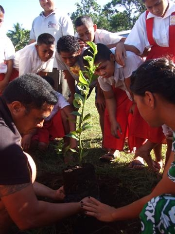 Conclusion of Fruit Trees for Youth Nutrition Project – Samoa