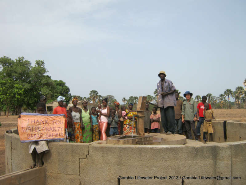Conclusion of Central River Region Handpump and WASH Improvement Program - The Gambia