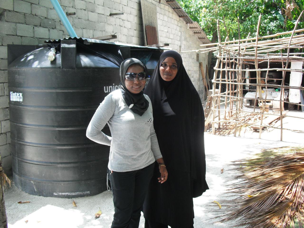 Rainwater Harvesting Program - Maldives