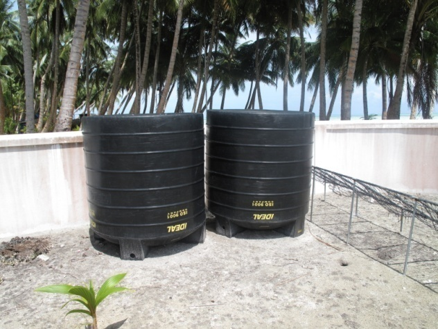Kunahandhoo Island Rainwater Harvesting Project – Maldives