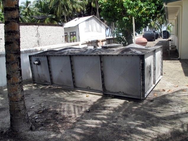 Kunahandhoo Island Rainwater Harvesting Project – Maldives