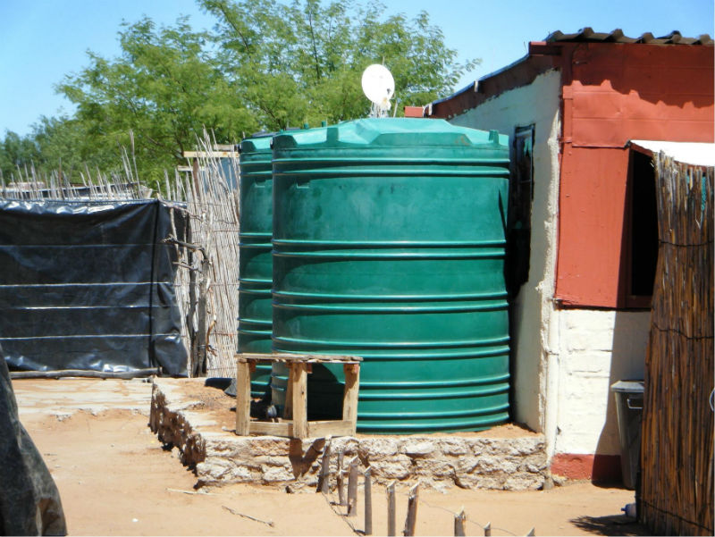 Conclusion of Epako Rainwater Harvesting Project – Namibia