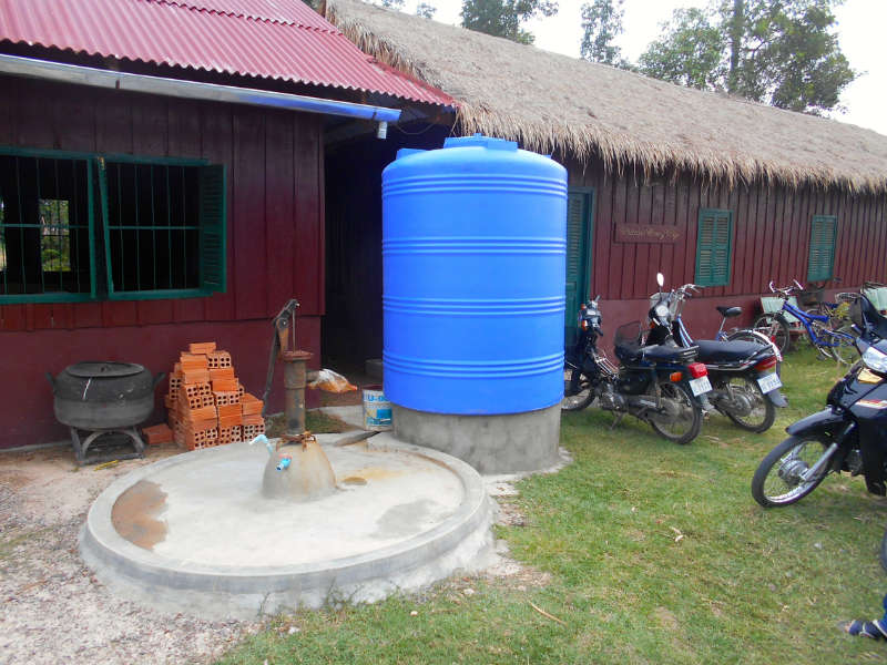Conclusion of Hope For Happiness School and the Cambodian Weaving Village Angtasom Water Project – Cambodia