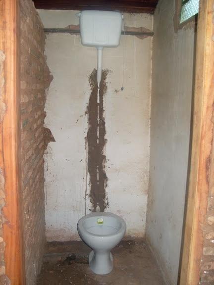 Conclusion of Potrero Reduccion Bathroom Project - Paraguay