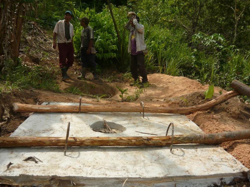 Latrine Construction and Training Project – Panama