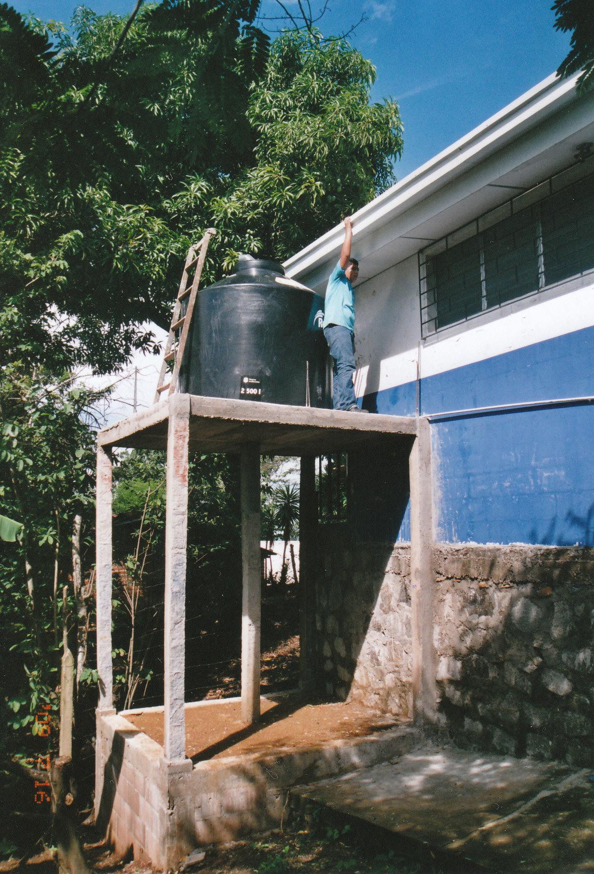 Rainwater Catchment System El Salvador