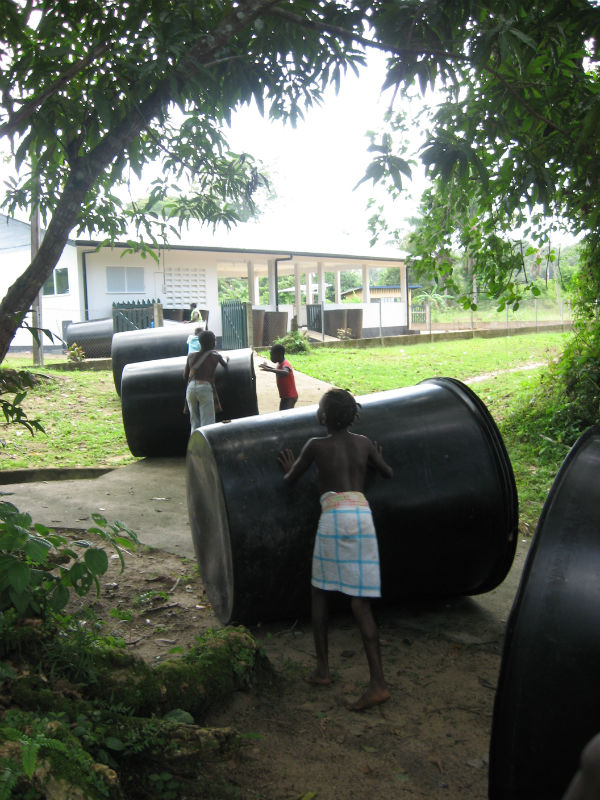 Conclusion of Malobi Rainwater Harvesting Project – Suriname