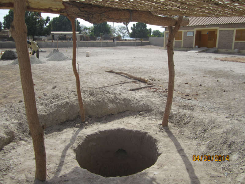 Conclusion of Pakour Pre-School Well Project – Senegal
