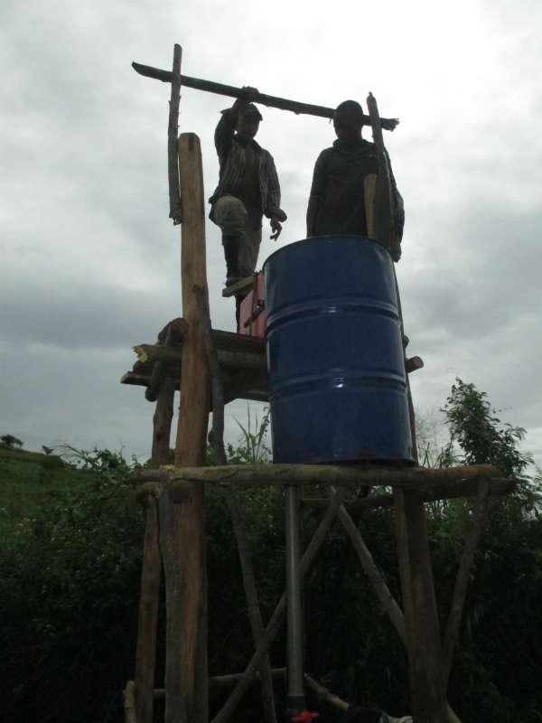 Anketrakabe Pump Project - Madagascar