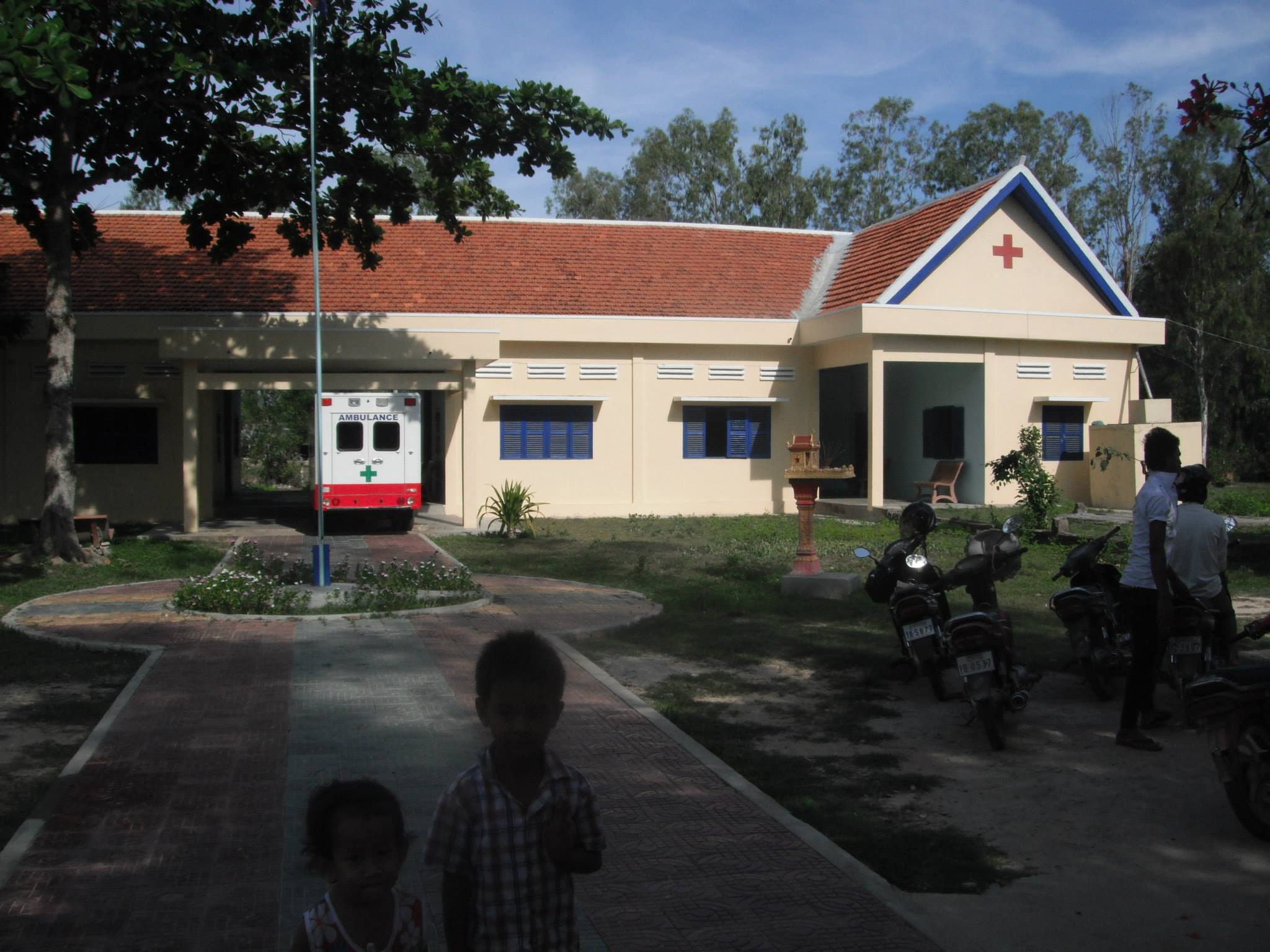 Kandieng Reay Health Center Well Project - Cambodia