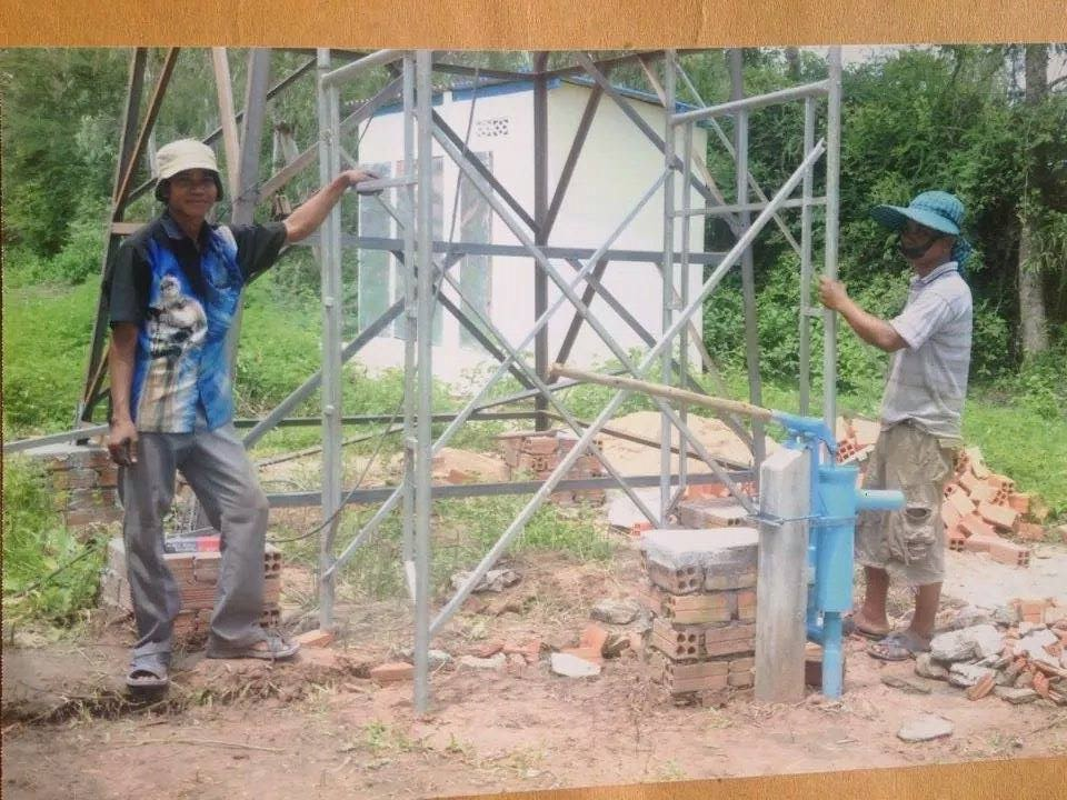 Conclusion of Kandieng Reay Health Center Well Project – Cambodia