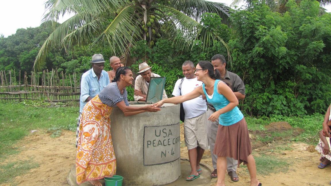 Conclusion of Amboromana Well Project - Madagascar
