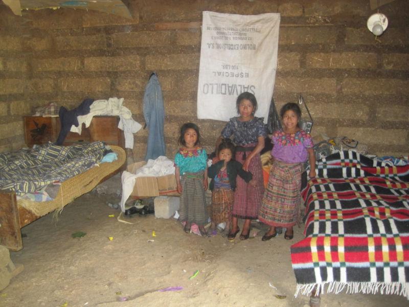 El Jícaro Concrete Floors in Homes Project - Guatemala