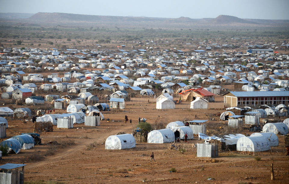 Massive Refugee Camp