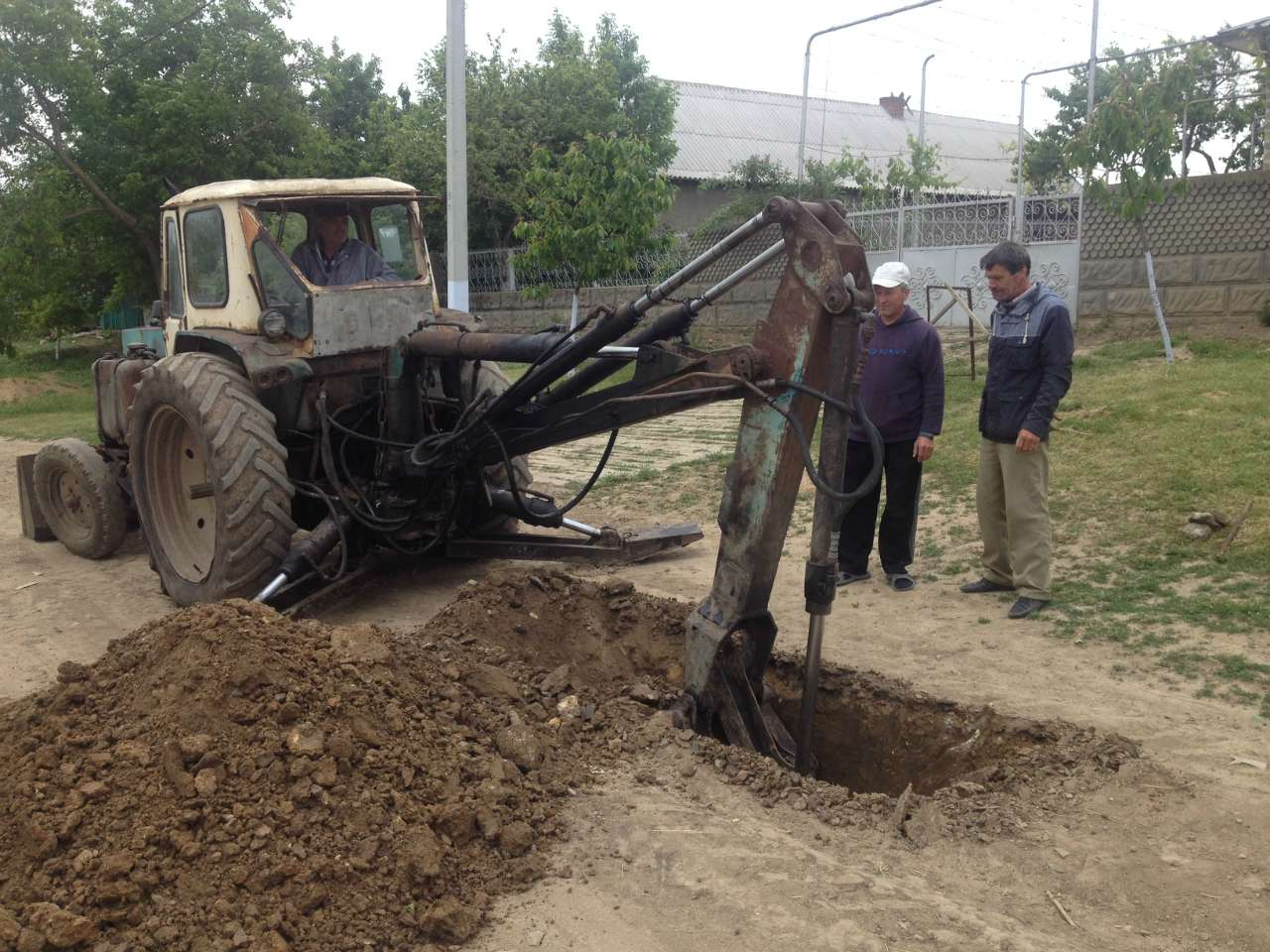 Conclusion of Caplani Water Project - Moldova