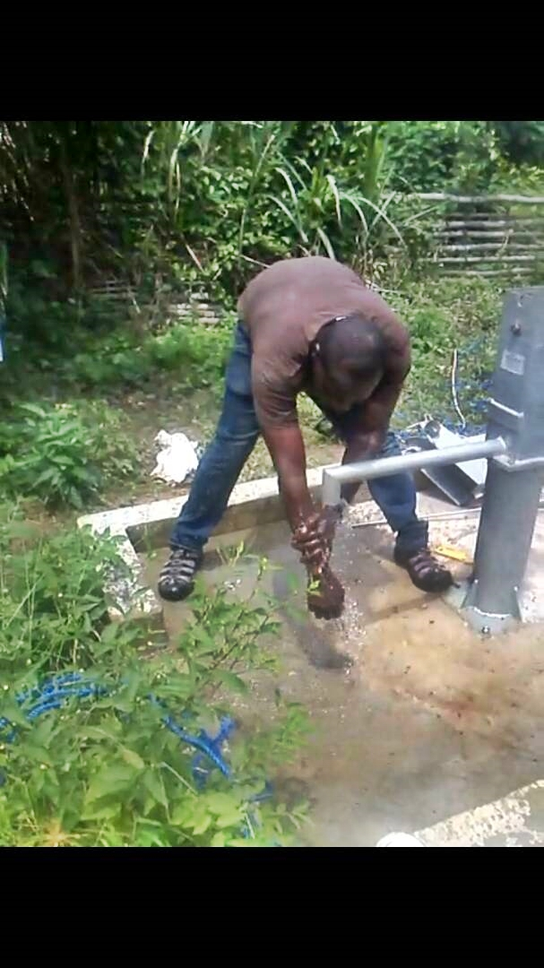 Conclusion of Kwanfinfin Borehole Project - Ghana