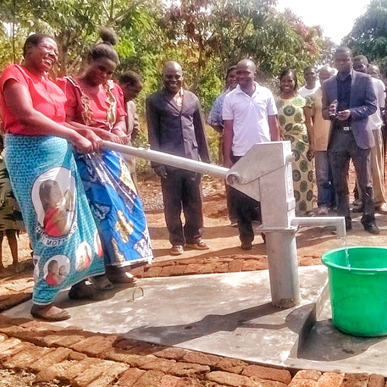 Conclusion of Likoswe Well Project - Malawi