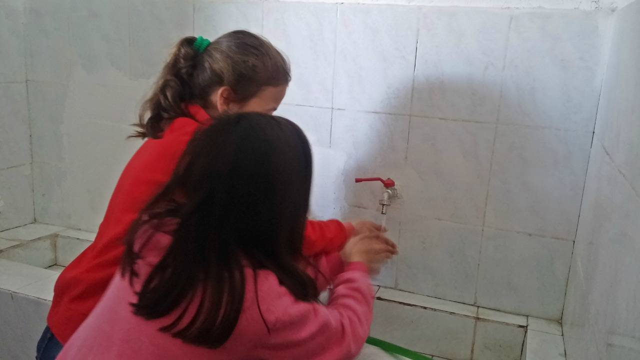 Conclusion of 31 Korrik 9 Vjecare School Bathroom and Water Project - Albania