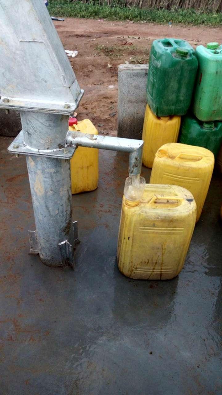 Conclusion of Djelibakoro Well Project - Guinea
