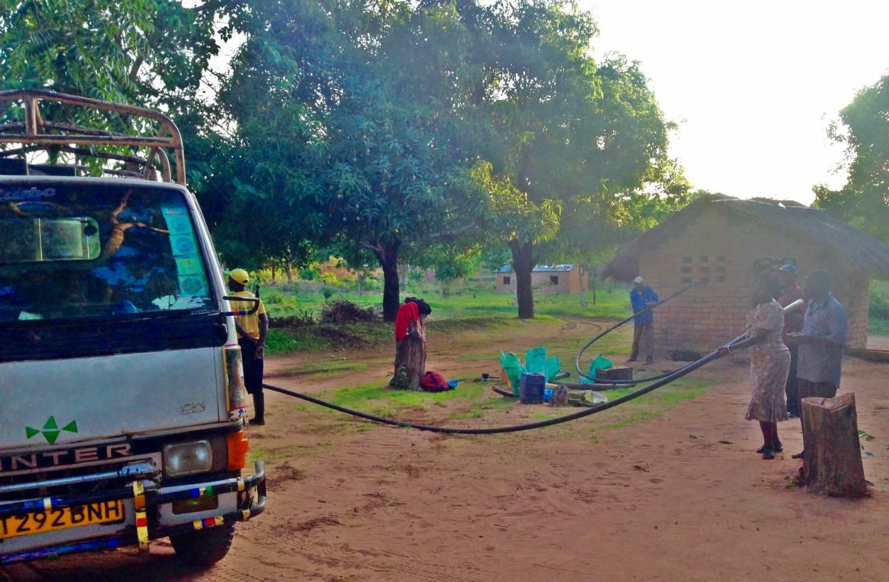Conclusion of Likarangilo Pump Rehab Project - Tanzania