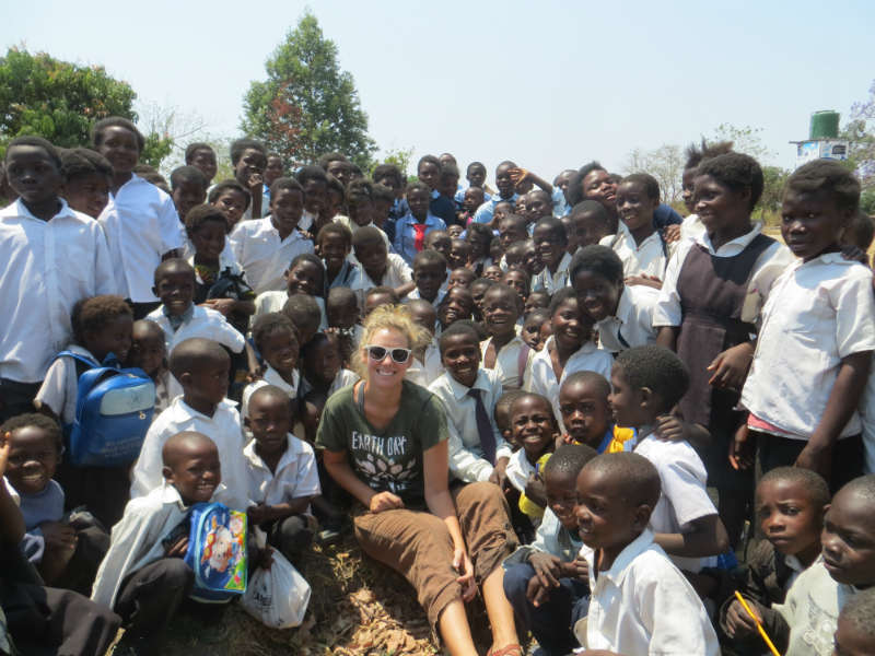 Mansa School Borehole Project – Zambia