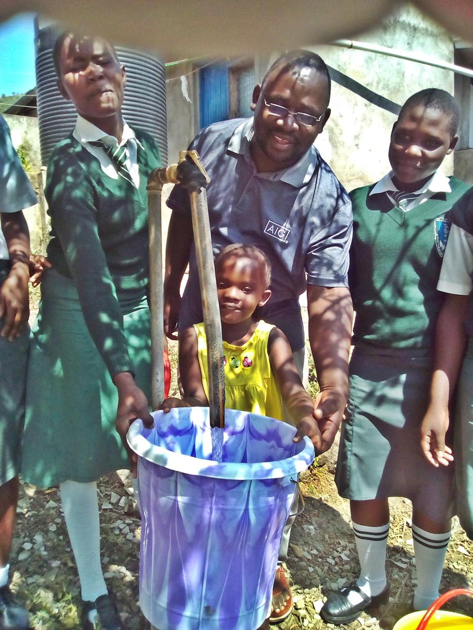 Conclusion of Rusinga Island Parish, St. Joseph's Girls' Secondary School Water Project - Kenya