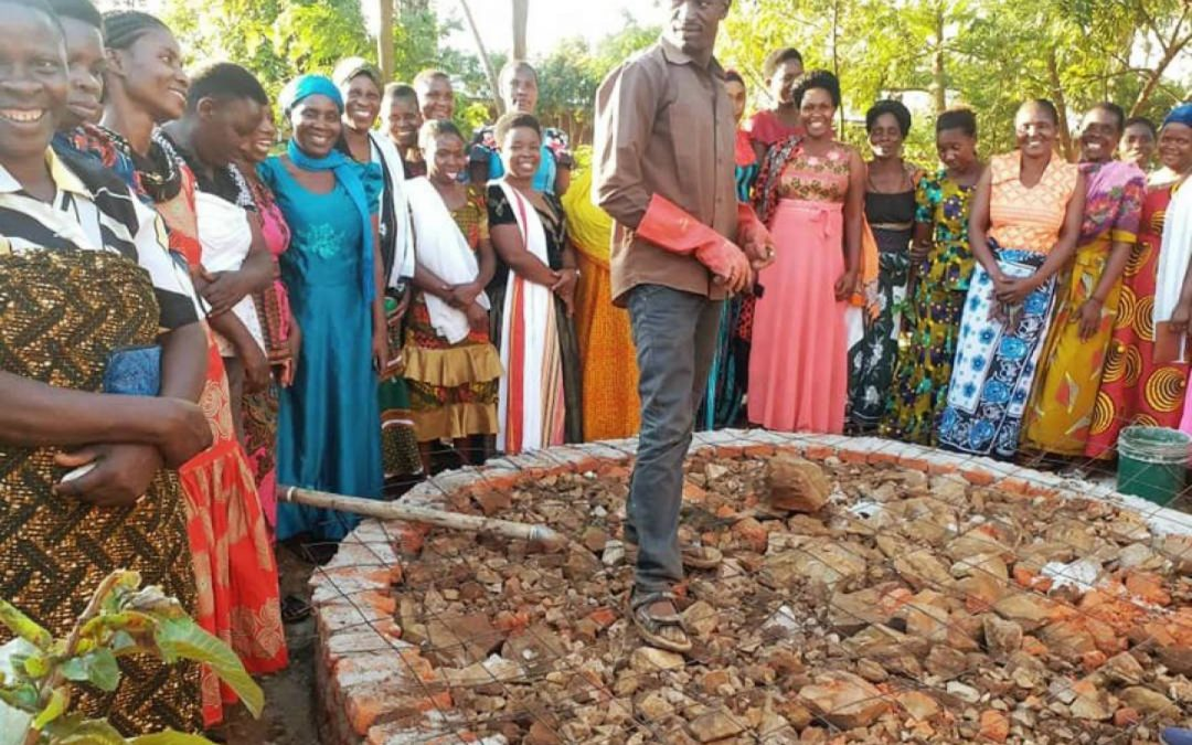Bukoba Water Filter Training & Catchment Building – Tanzania