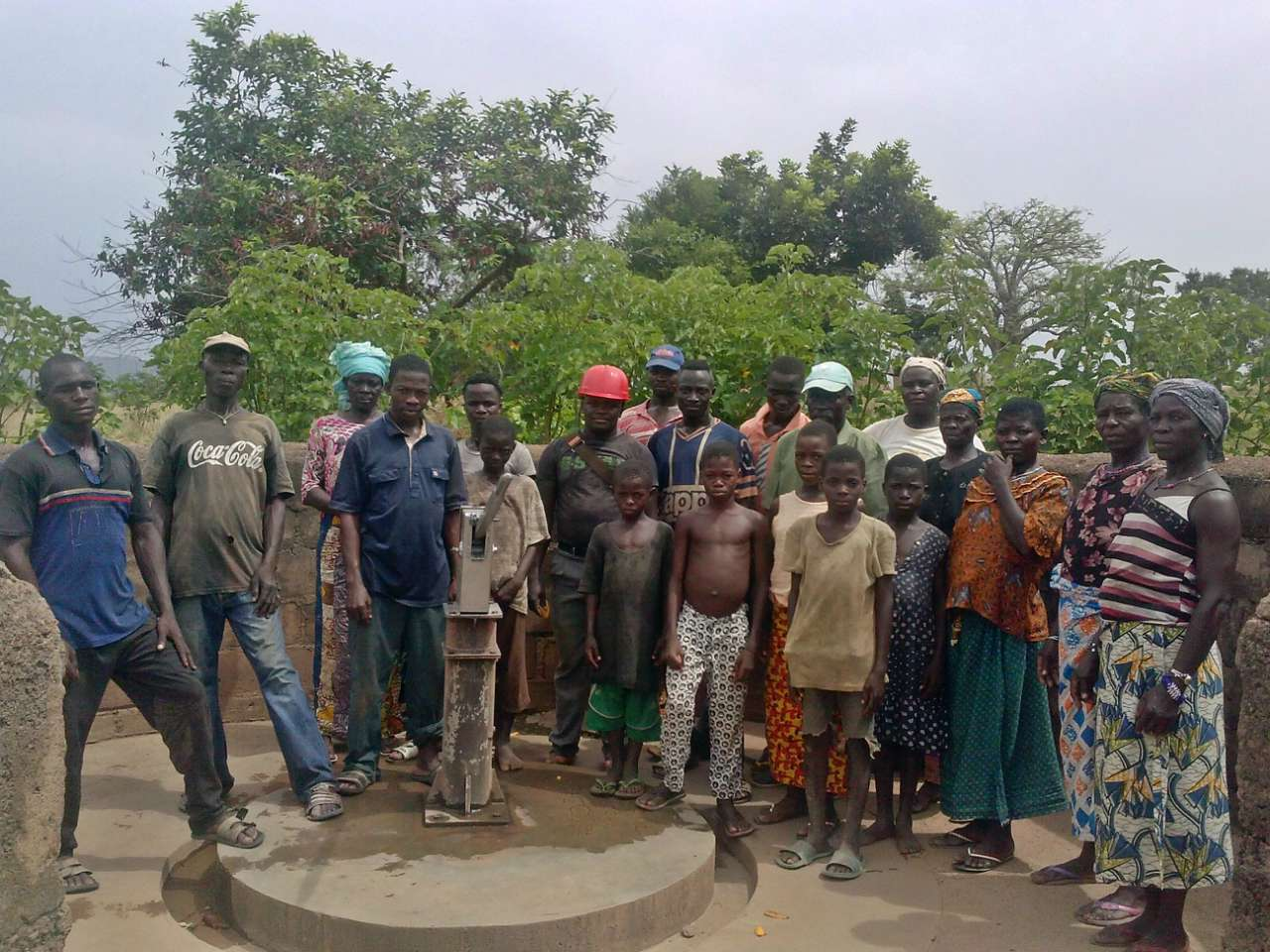 Conclusion of Kante Water Project - Togo