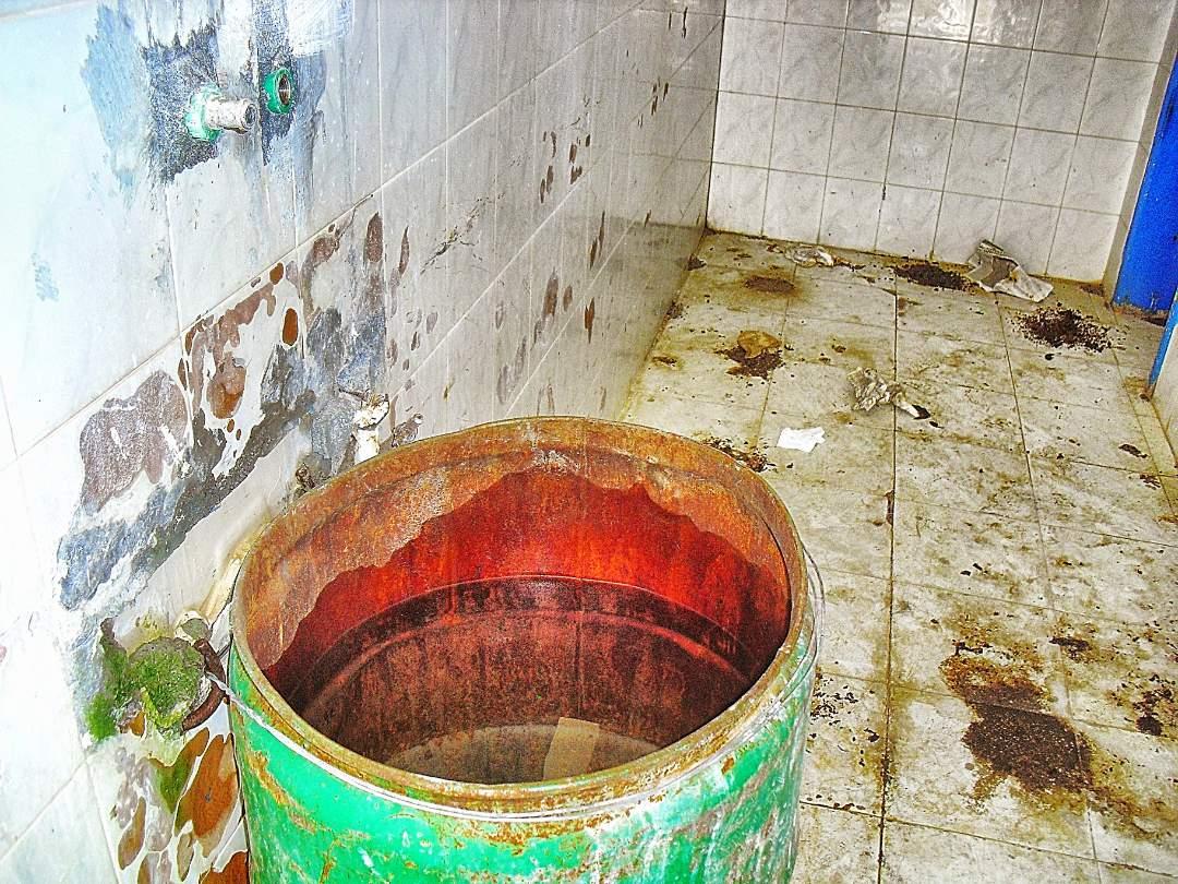 Barrel of water