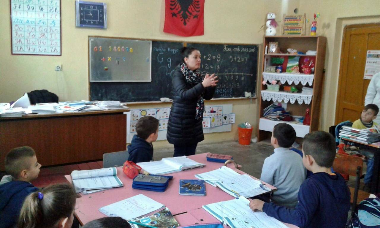 Conclusion of Sheq i Madh School Bathroom and Water Project - Albania