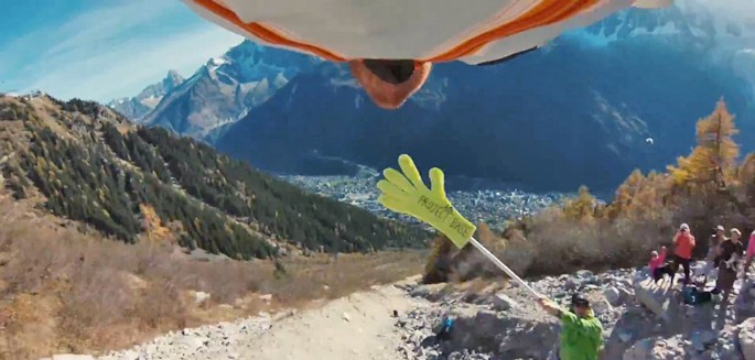 Highest Hi 5 (Wingsuit)