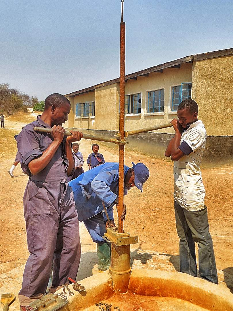 School Borehole installatiion