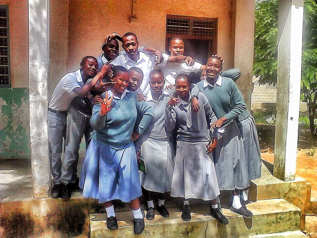 Students in Ipillili Village