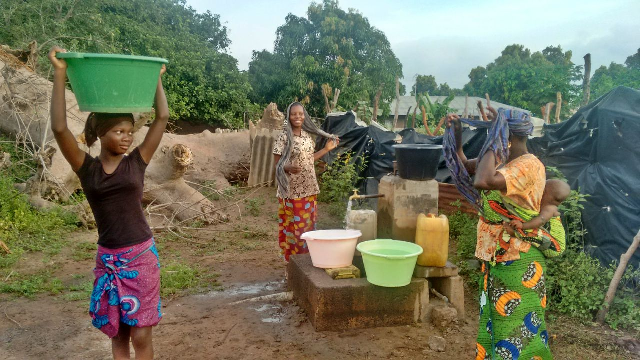 Solar-Powered Borehole and Water System Project - The Gambia