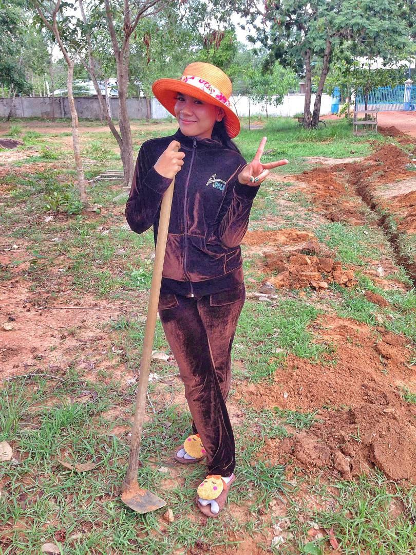 Conclusion of Svey Leu High School Latrine Project - Cambodia