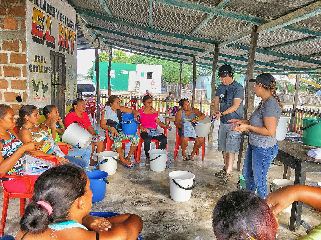 Conclusion of Colombia Lifewater Projects - Estacion Village - Colombia