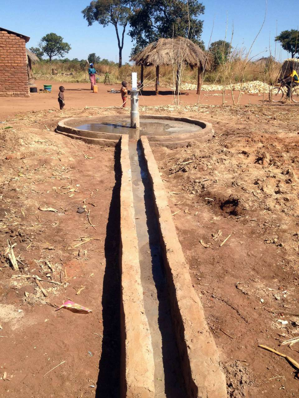 Conclusion of Chimdomba Borehole Project - Zambia
