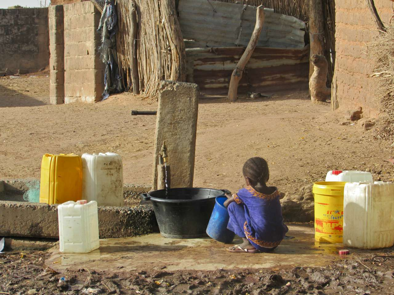 Boiram Borehole and Water System Project - The Gambia