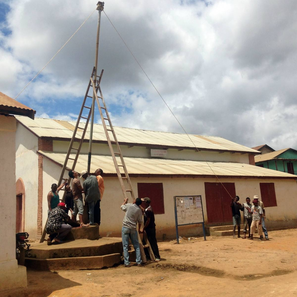 Conclusion of Ambatomainty Water Project - Madagascar