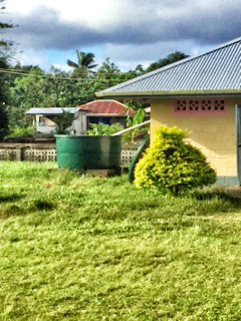 Gataivai School Water Tank Project - Western Samoa