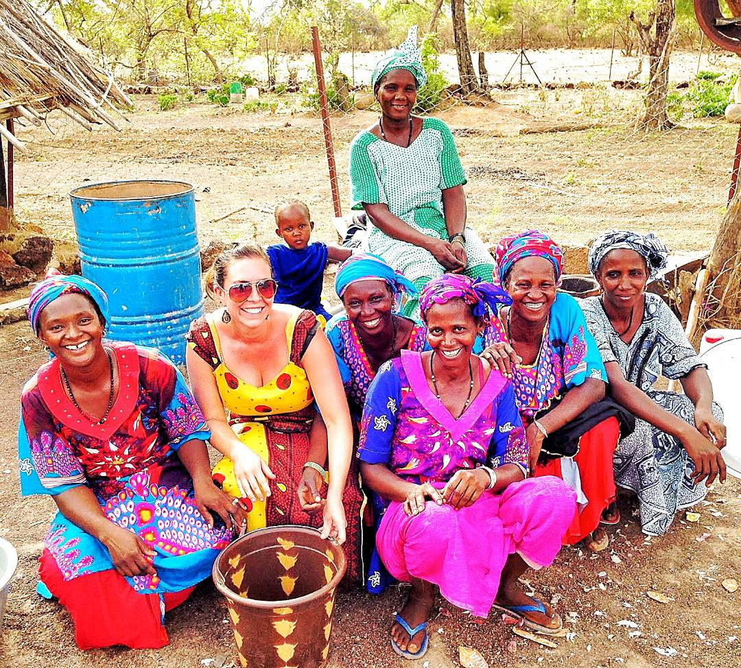 Salemata Village women with Alia Kroos