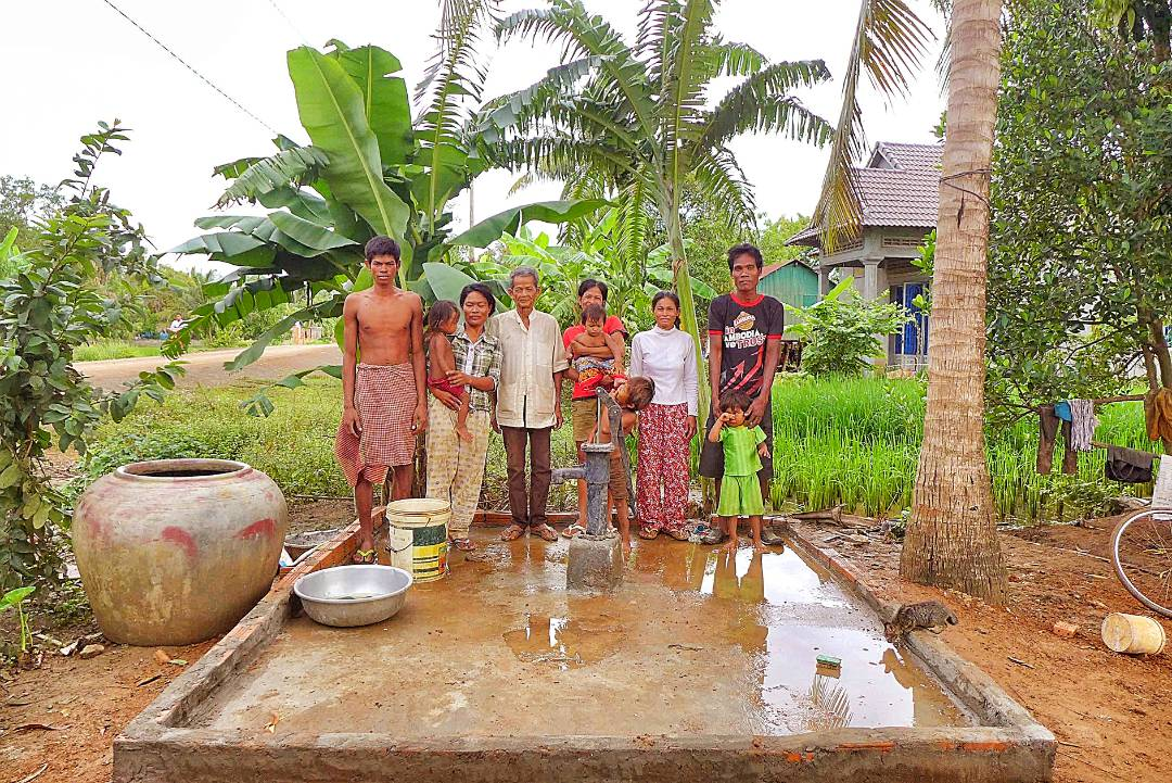 Conclusion of Trodait Village and Koma Village Well Project - Cambodia