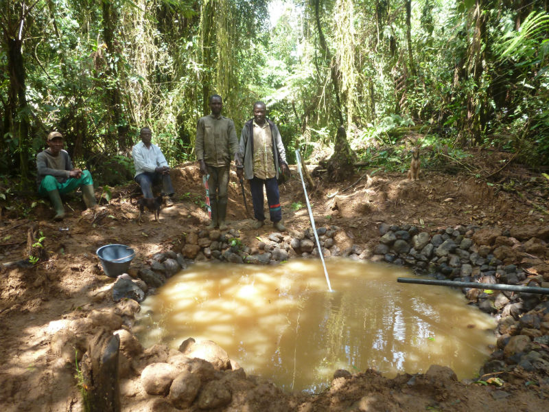 Conclusion of Akid Water System Project - Cameroon