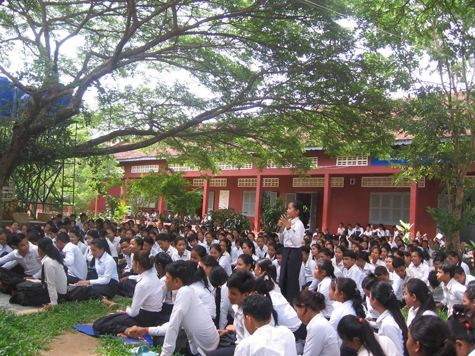 Bakong High School Water Project - Cambodia