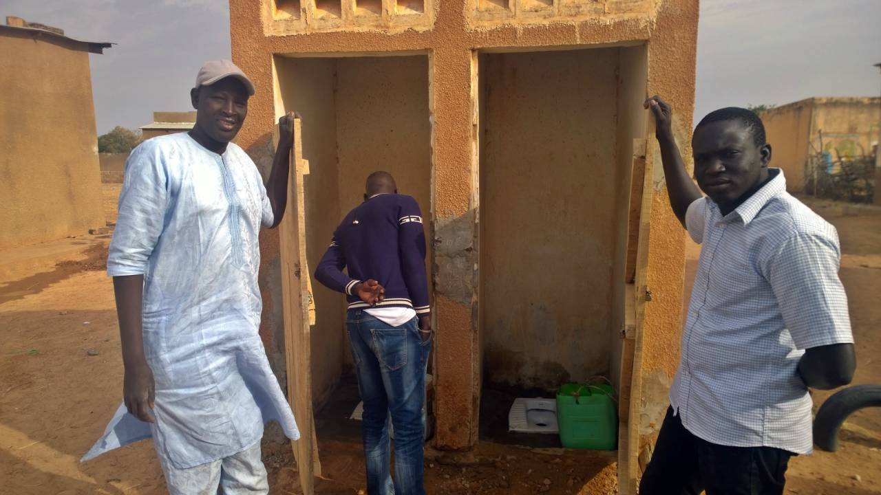 Conclusion of Digaly Sanitation Project - Senegal