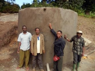 Conclusion of Kwizu Village Water Tank Project - Tanzania