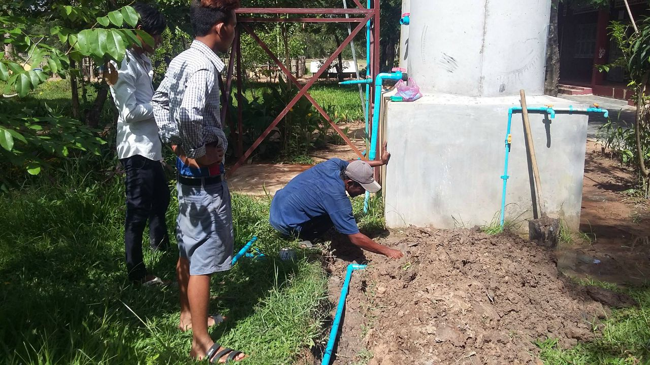 Conclusion of Bakong High School Water Project - Cambodia