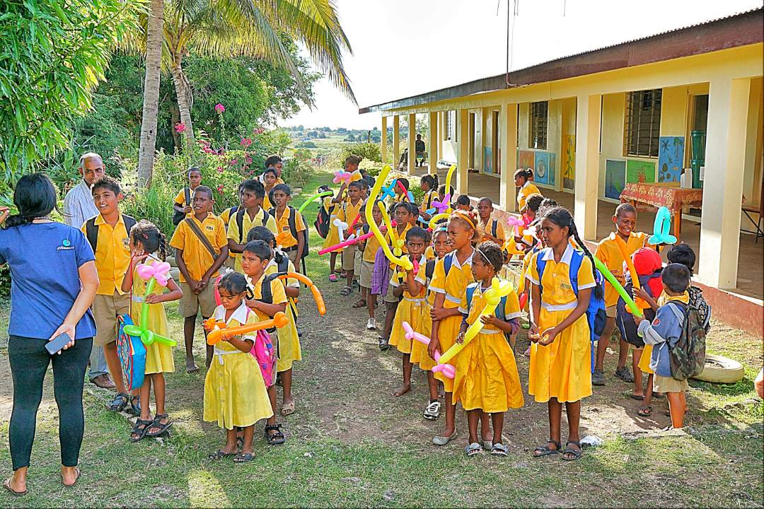 Primary School in Fiji