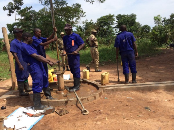 Fixing a well